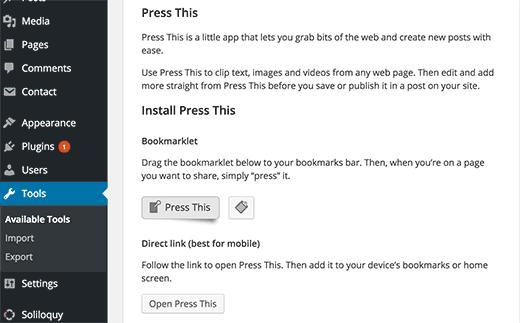 Press This